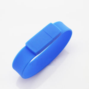 Hot Selling Bulk Cheap Silicon Wrist Band USB pictures & photos