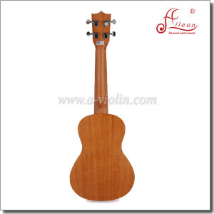 Wholesale High Quality Mahogany Plywood Satin Finish Rosewood Fingerboard Ukulele (AU07LH) pictures & photos