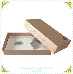 Cardboard Gift Box with Interior EVA Tray