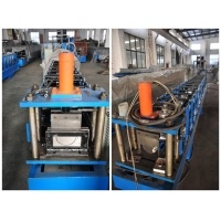 Fully Automatic High Speed Water Gutter Cold Roll Forming Machine pictures & photos