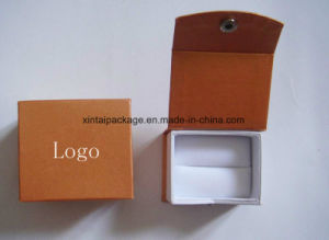 Luxury Clamshell Cardboard Jewelry Box
