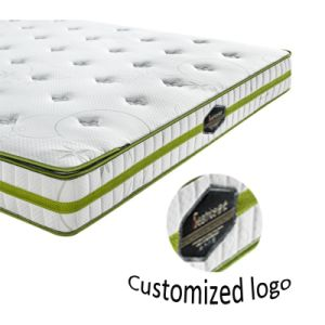 Folding Vacuum Compressed Massage Spring Mattress pictures & photos