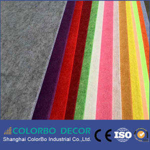 Decorative Sound Absorbing Wall Polyester Fiber Acoustic Panel pictures & photos