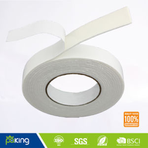 White Color Hot Melt Glue Double Side EVA Foam Tape pictures & photos