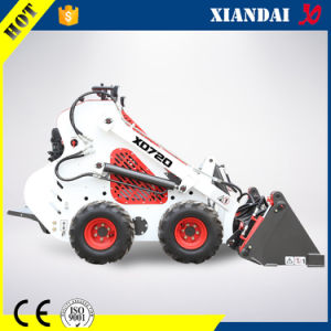 Multifunctional Mini Skid Steer Loader Xd720 with Trencher and Auger pictures & photos