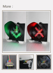 New Design 400mm Red Green Signal Toll Station Traffic Light pictures & photos