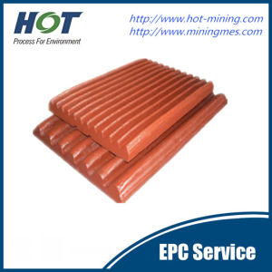 High Quality Manganese Steel Jaw Crusher Parts Jaw Plate pictures & photos