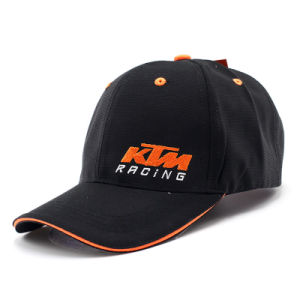 Black Sporting Racing Hats/Sport Cap with High Quality (ASC08) pictures & photos