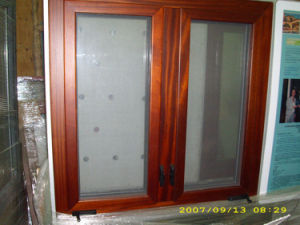 Double Tempered Glass Casement Window Manufacturer pictures & photos