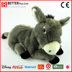 Soft Realistic Stuffed Animal Plush Donkey Toy pictures & photos