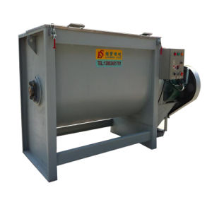 Horizontal Twin-Shaft Blade New Design Low Energy Consumption Powder Mixer