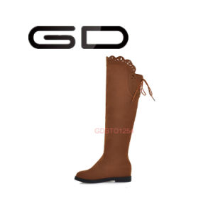 Slip-on Style and Colorful Winter Season Women Boots Flat Factory Price pictures & photos