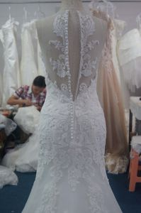 Charming Impeccable Pure Beading Gowns Dress with V-Neckline pictures & photos