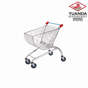 80L Half Round Shopping Trolley pictures & photos
