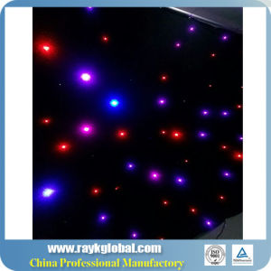 2017 New Come Drapes Colorful&#160 From China; LED Twinkling Stars pictures & photos