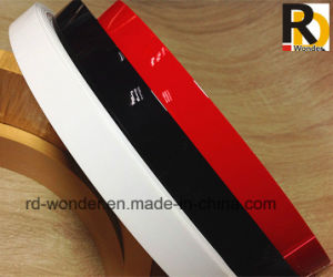 High Glossy Solid Color Decorated PVC Edge Banding pictures & photos