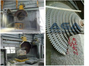 Block Making Machine Saw Blade Dq2500 for Granite Marble Fabrication Company pictures & photos