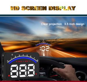 Car Alarm System M6 OBD2 Hud Projector Head up Display Speeding Warning OBD II Inteface Hud