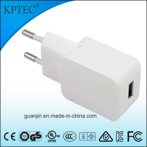 EU Plug 5V AC/DC Adapter with Ce and RoHS Reach pictures & photos