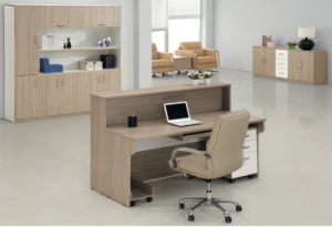 Modern Secretary Front Reception Desk Office Counter Table pictures & photos