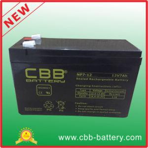 Sealed Lead Acid Battery VRLA, 12V7ah Battery, 12V7ah Abnormal Alarm System Battery pictures & photos