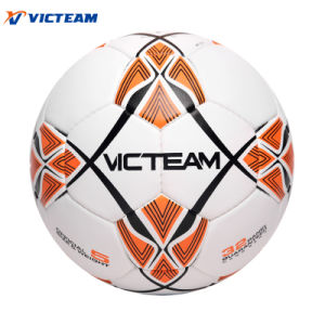 Latex Bladder Hybrid Composite Leather Soccer Ball pictures & photos