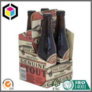 Corrugated Cardboard 6 Pack Wine Carrier Paper Box pictures & photos