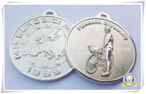 3D Zinc Die Cast Nickel Plated Medallion pictures & photos