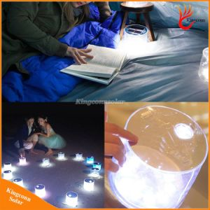 Portable Solar Lantern Rechargeable Foldable Inflatable Solar Lantern Camping Solar LED Light for Outdoor pictures & photos