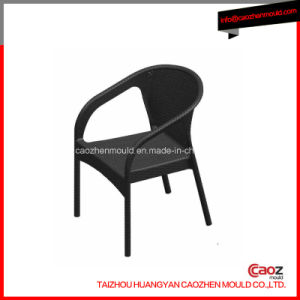 Arm/Plastic Injection Chair Mould with Rattan Design pictures & photos