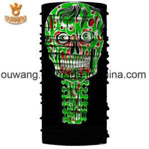 Design Your Own Multi Colour Skull Polyester Scarf pictures & photos
