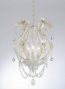 Attractive White Mini Crystal Chandelier Light pictures & photos