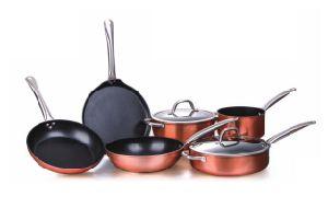 Forge Copper Non-Stick Aluminum Alloy Cookwares A1001 pictures & photos
