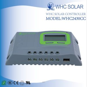 PWM 12/24V 30A Solar Charge Controller pictures & photos