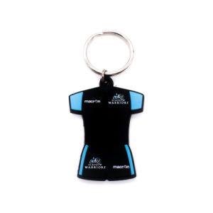 Promotion Gift Shirt PVC Label Key Chain pictures & photos