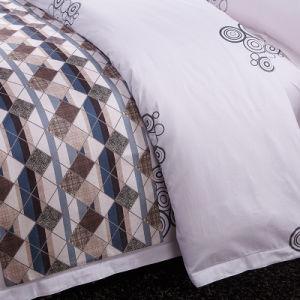3 Pieces Discount Cotton Bedding Sheet Sets pictures & photos