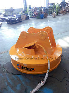 Round Type Excavator Lifting Magnet for Steel Scraps pictures & photos