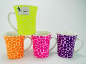 Shiny Candy Color Ceramic Cup for Promotion Gift pictures & photos