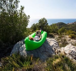 Inflatable Air Lounger Camping Sleeping Lazy Bag Hangout Portable Air Inflatable Sofa pictures & photos