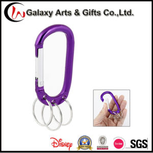 Carabiner Hook Keychain Snap in Aluminum Alloy pictures & photos