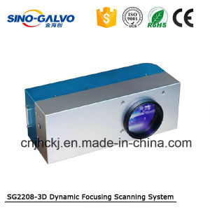 Manufacturer Price 3D Galvo Sg2208-3D for Marking on Uneven Surface pictures & photos