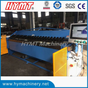 W62K-3X3200 CNC hydraulic steel pan box folding forming bending machinery pictures & photos