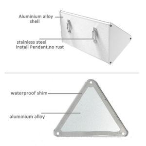 Microwave Radar Motion Sensor Solar Light 48LED Aluminium Alloy IP65 Waterproof Outdoor Wall Mounted Light High Brightness Wall Lamp Solar Security Light pictures & photos