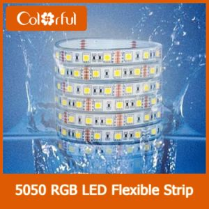 Long Life High Brightness SMD5050 DC12V LED Flexible Strip Light pictures & photos