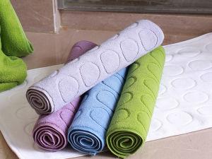 Luxury 100% Cotton Hotel Bathroom Bath Rug pictures & photos
