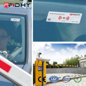 Encryption Car Parks Vehicle Windshield Label pictures & photos