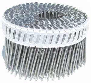 Q195/Q235 Plastic Collected Pallet Nails Roofing Nails Coil Nails pictures & photos