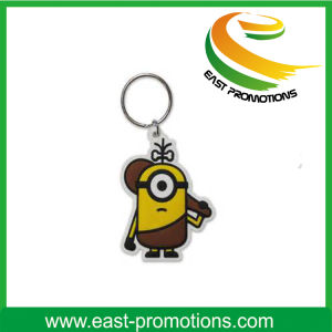 Custom Soft PVC Plastic Keychain for Sale pictures & photos