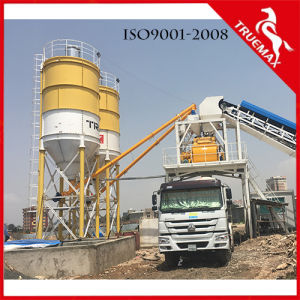 Road and Building 25m3 Automatic Stationary Wet Ready Mixed Concrete Batching Plant