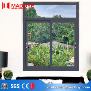 Cheap Metal Double Glazing Sliding Window for Building pictures & photos